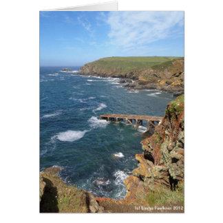 Old Lifeboat Ramp, Lizard Peninsula, Cornwall Card