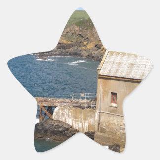 Old Lifeboat Station, Lizard Peninsula, Cornwall Star Sticker