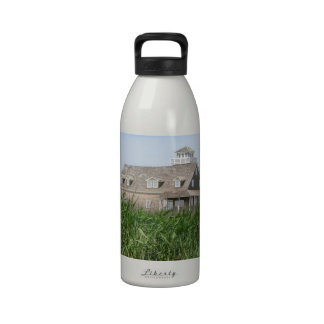 Old Lifesaving Station Outer Banks NC Water Bottle