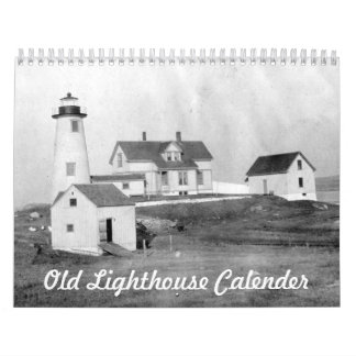 Old light houses calendar