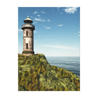 Old Lighthouse Canvas Prints