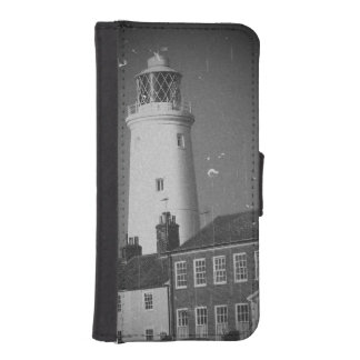 old lighthouse georgian houses seside town photo iPhone SE/5/5s wallet case