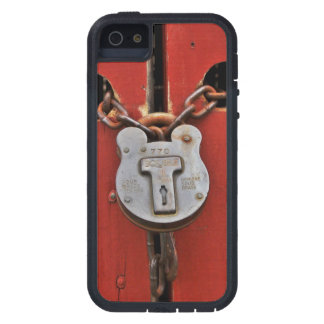 Old Lock iPhone 5 Cover