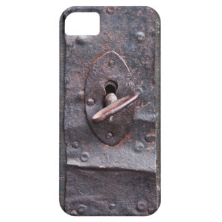Old lock with key iPhone 5 cases