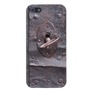 Old lock with key iPhone 5 covers