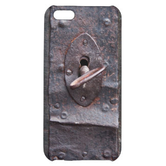 Old lock with key iPhone 5C covers