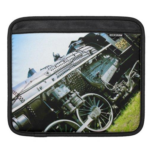 Old locomotive 02 Rickshaw Sleeve Sleeve For iPads