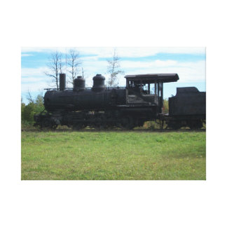 Old Locomotive Canvas Print