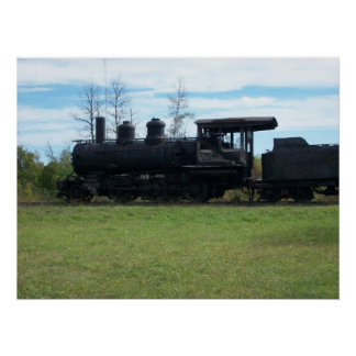 Old Locomotive Photo Poster