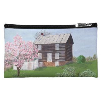 Old Log Cabin - Philomont VA Cosmetics Bags
