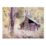 Old Log Cabin Postcard