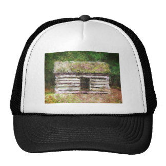 Old Log Cabin Trucker Hat