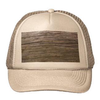 Old log texture trucker hat