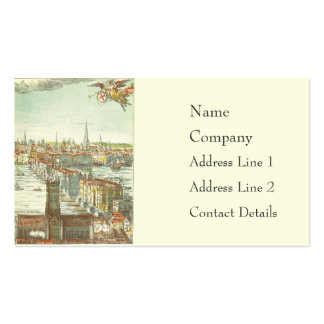 Old London Bridge, England Double-Sided Standard Business Cards (Pack Of 100)