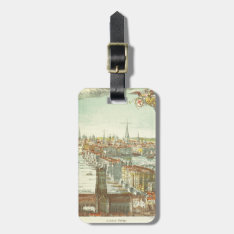Old London Bridge, England Luggage Tag at Zazzle