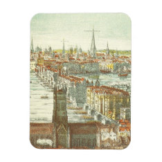 Old London Bridge, England Magnet at Zazzle