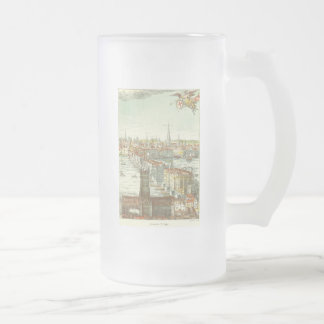 Old London Bridge, England Frosted Beer Mugs