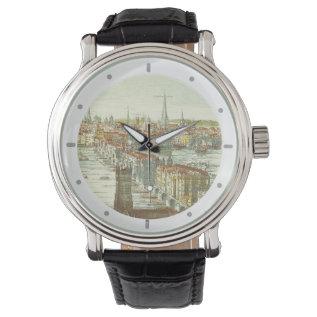 Old London Bridge, England Wrist Watches at Zazzle