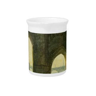 Old London Brige by William Turner Beverage Pitchers