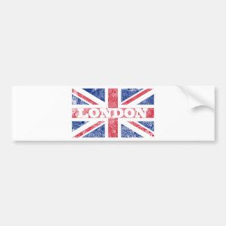 Old London flag Car Bumper Sticker