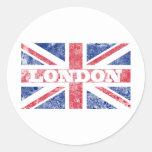 Old London flag Sticker