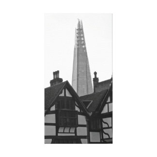 Old London, New London - The Shard Canvas Print