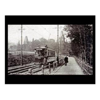 Old London Postcard Alexandra Palace Tram