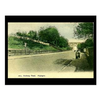 Old London Postcard - Archway Road, Highgate