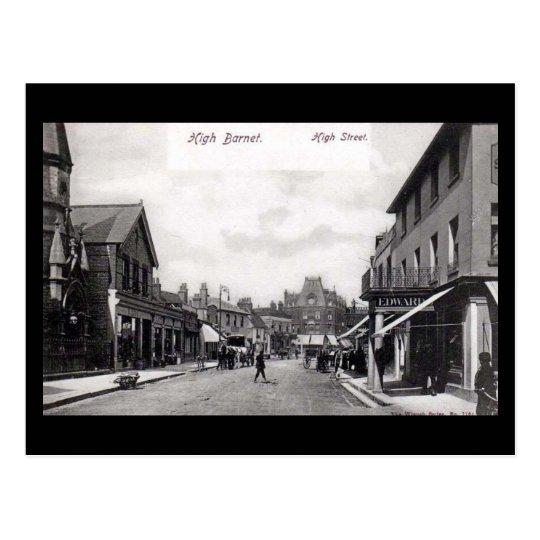 Old London Postcard - High St, High Barnet