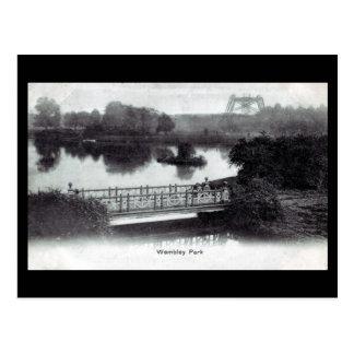 Old London Postcard - Watkin's Folly, Wembley Park
