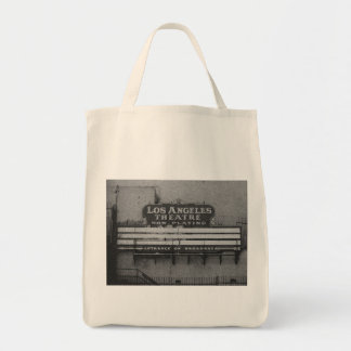 Old Los Angeles Theatre Sign Tote Bag