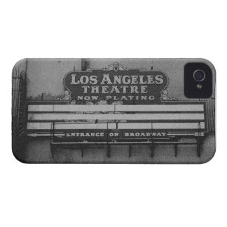 Old Los Angeles Theatre Sign iPhone 4 Cases