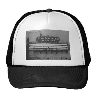 Old Los Angeles Theatre Sign Mesh Hat