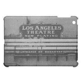Old Los Angeles Theatre Sign iPad Mini Covers