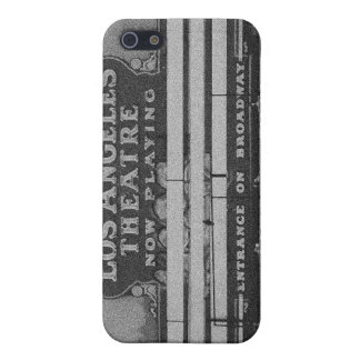 Old Los Angeles Theatre Sign iPhone 5 Covers