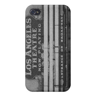 Old Los Angeles Theatre Sign Cases For iPhone 4