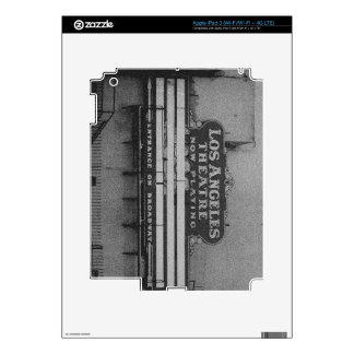 Old Los Angeles Theatre Sign iPad 3 Decal
