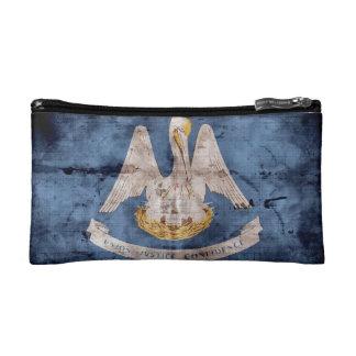 Old Louisiana Flag Cosmetic Bags