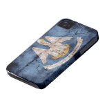 Old Louisiana Flag; Case-Mate iPhone 4 Cases