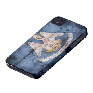Old Louisiana Flag; iPhone 4 Case-Mate Case