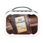 """""""Old Luggage"""" Lunch Box"""