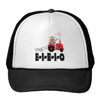 old macdonald eieio cartoon mesh hats