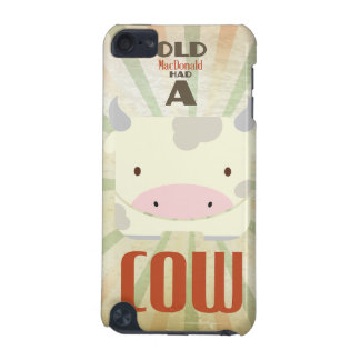 Old MacDonald had a Cow iPod Touch (5th Generation) Cases