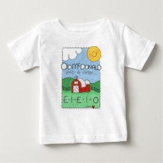 Old MacDonald's Farm Cute White SS Infant T-Shirt