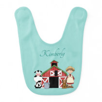 Old MacDonald's Wife Had A Farm - Reversible Baby Bib
