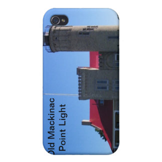 Old Mackinac Point Light iPhone 4/4S Case