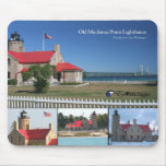 Old Mackinac Point Lighthouse Mouse Pad