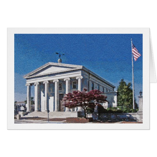 Old Madison County Courthouse Card