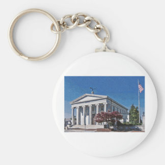 Old Madison County Courthouse Keychain