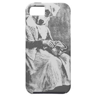 Old Maid Dog iPhone SE/5/5s Case